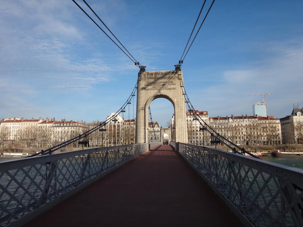 Puente en Lyon Francia