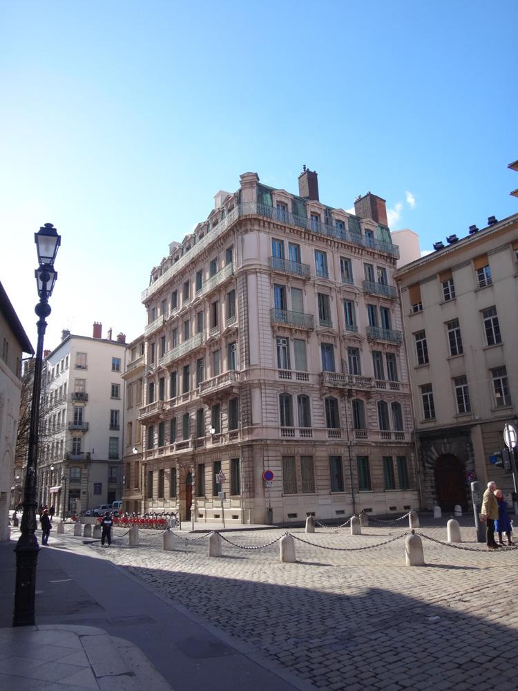 Lyon Streets France