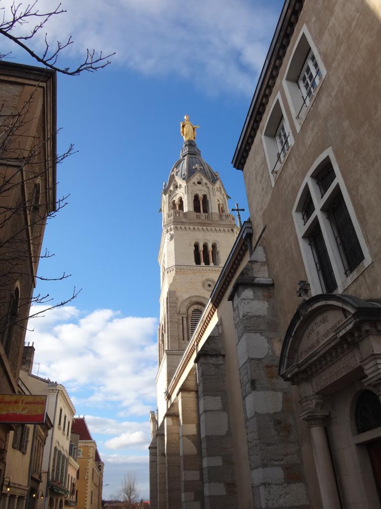 Fourvière basilica lyon france