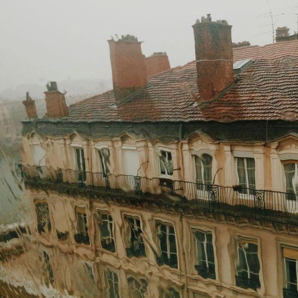 Lyon desde el Okko Hotel