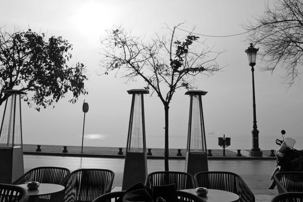 deck cafe at thessaloniki