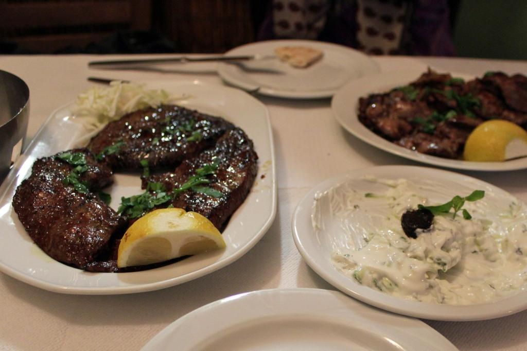 food at thessaloniki