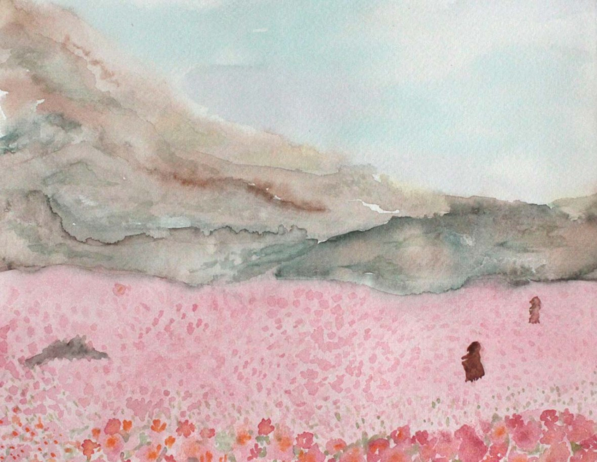 atacama blossoms watercolor