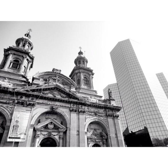 Contrastes Santiago de Chile