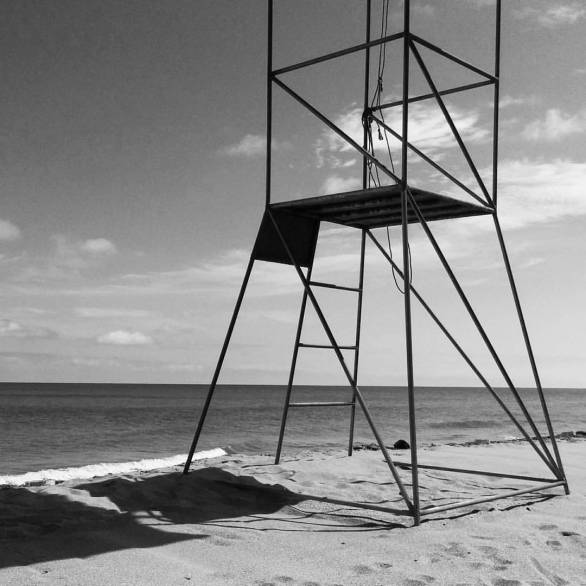 Silla salvavidas Playa Gaviota Ecuador